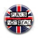 Badge Punks Not Dead British