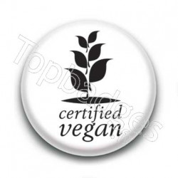 Badge : Certified vegan