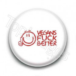 Badge Vegan Fuck Better