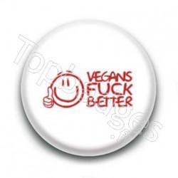 Badge Vegan Fuck Better