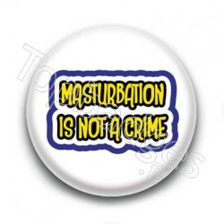 Badge Masturbation Is Not A Crime