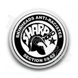 Badge Skinheads Anti-Racistes