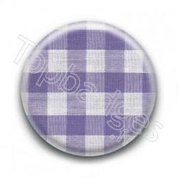 Badge Vichy Violet
