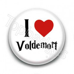 Badge I Love Voldemort