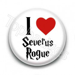 Badge I Love Severus Rogue