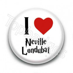 Badge I Love Neville Londubat