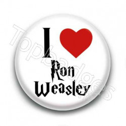 Badge I Love Ron Weasley