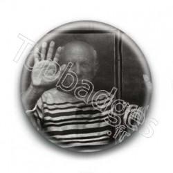 Badge Monsieur en marinière