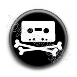 Badge Cassette De Mort