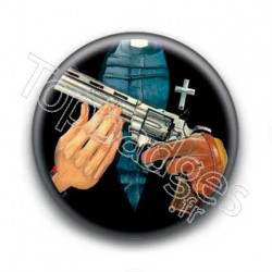 Badge Cowboy Revolver