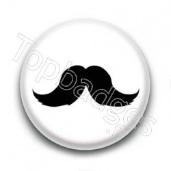Badge Moustache Dupont