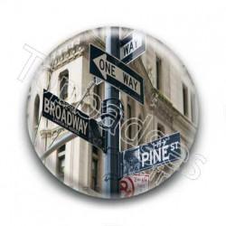 Badge Panneaux Directions