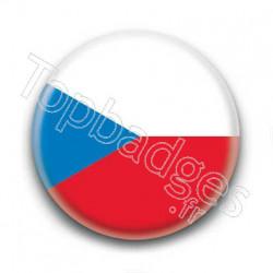 Badge Drapeau République Tchèque