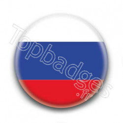 Badge Drapeau Russie
