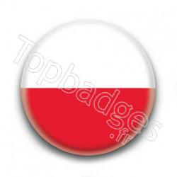 Badge Drapeau Pologne