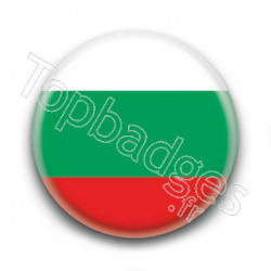 Badge Drapeau Bulgarie
