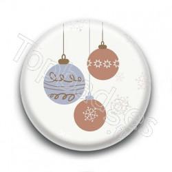 Badge : Boules de Noël