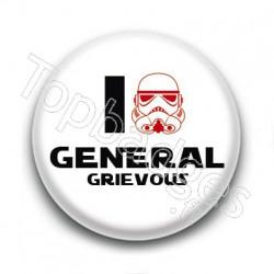 Badge I Love Général Grievous