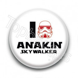 Badge I Love Anakin Skywalker