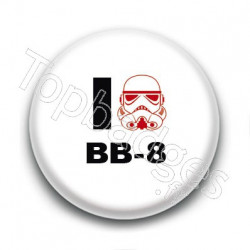 Badge I Love BB-8