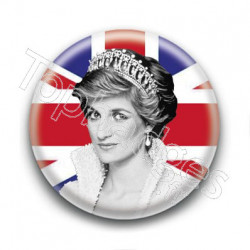 Badge Lady Diana