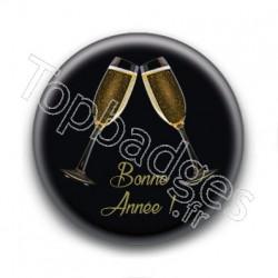 Badge Bonne Année Santé !
