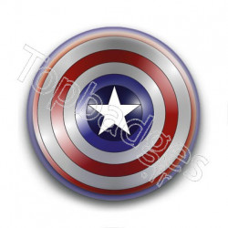 Badge Bouclier Captain America