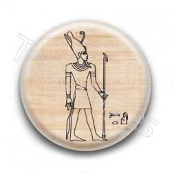 Badge Dieu Egyptien Horus Humain