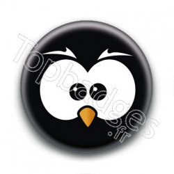 Badge Yeux de Chouette