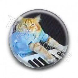 Badge Chat Piano