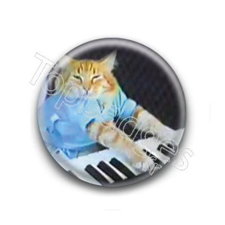 Badge Chat Piano