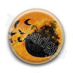 Badge Citrouille 2