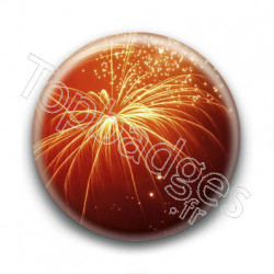 Badge Feux d'artifice