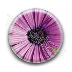 Badge Fleur Violette