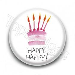 Badge Happy Happy !