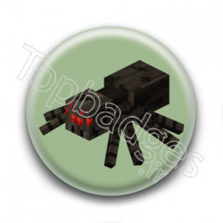 Badge Araignée Minecraft
