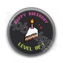 Badge Happy Birthday Level Up