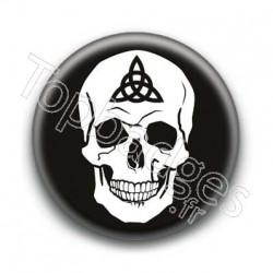 Badge Crâne Triquetra
