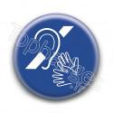 Badge : Sourd et muet
