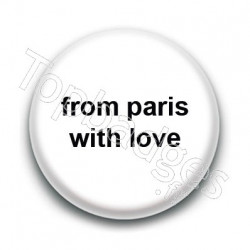 Badge From Paris with love