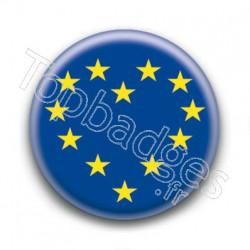 Badge Europe Coeur