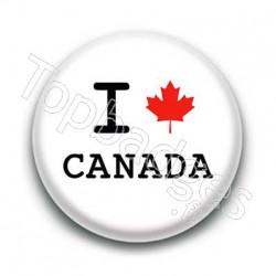 Badge I Love Canada