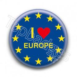 Badge I Love Europe