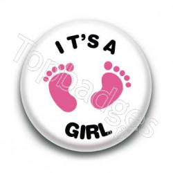 Badge It's a girl