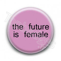 Badge The future is female