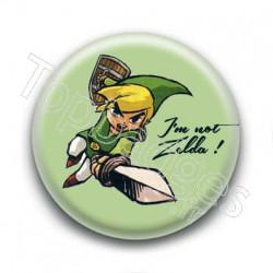 Badge : I'm not Zelda !