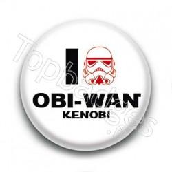 Badge I Love Obi-Wan Kenobi