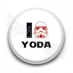 Badge I Love Yoda