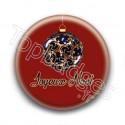 Badge : Boules de Noël, joyeux noël