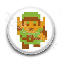 Badge : Link 8-bit, Zelda